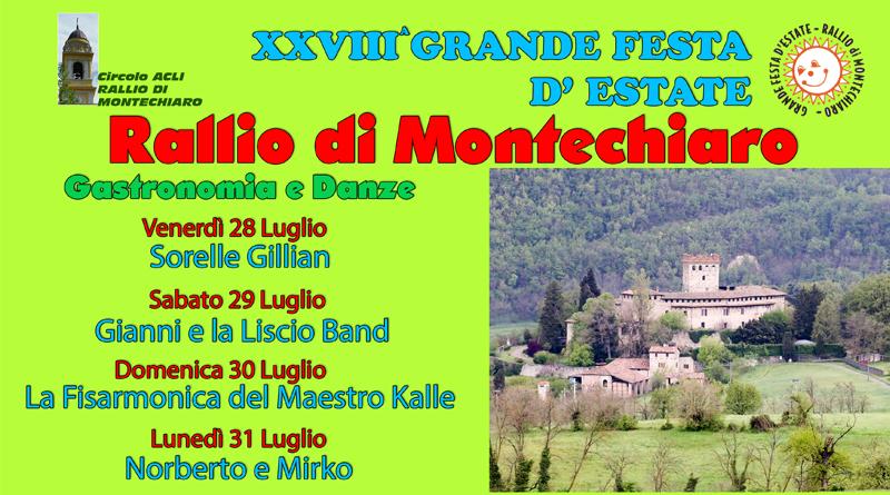 Festa Estiva Rallio di Montechiaro