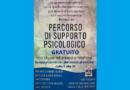 COVID–19: PERCORSO DI SUPPORTO PSICOLOGICO GRATUITO